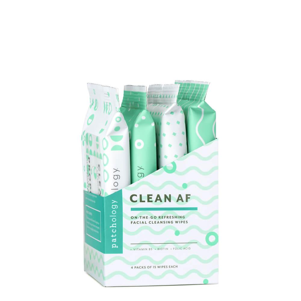 Clean AF Facial Skin Wipes