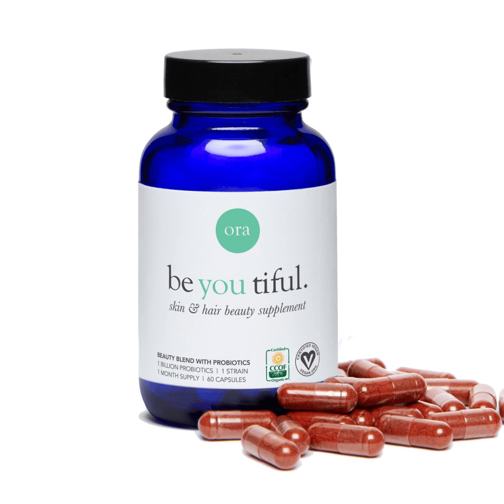 Be You Tiful Organic Skin & Hair Beauty Support Capsules