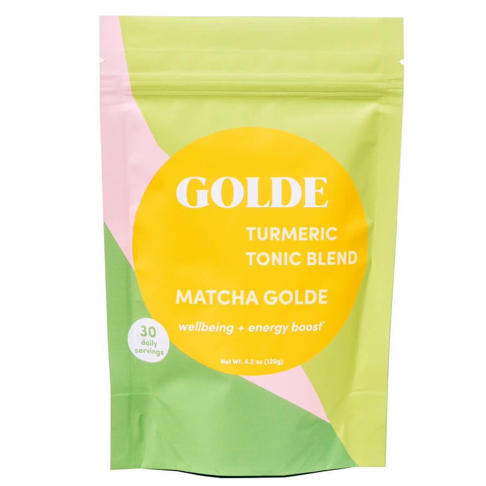Matcha Golde Turmeric Tonic