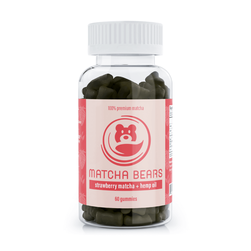 Matcha Bears Strawberry & Hemp