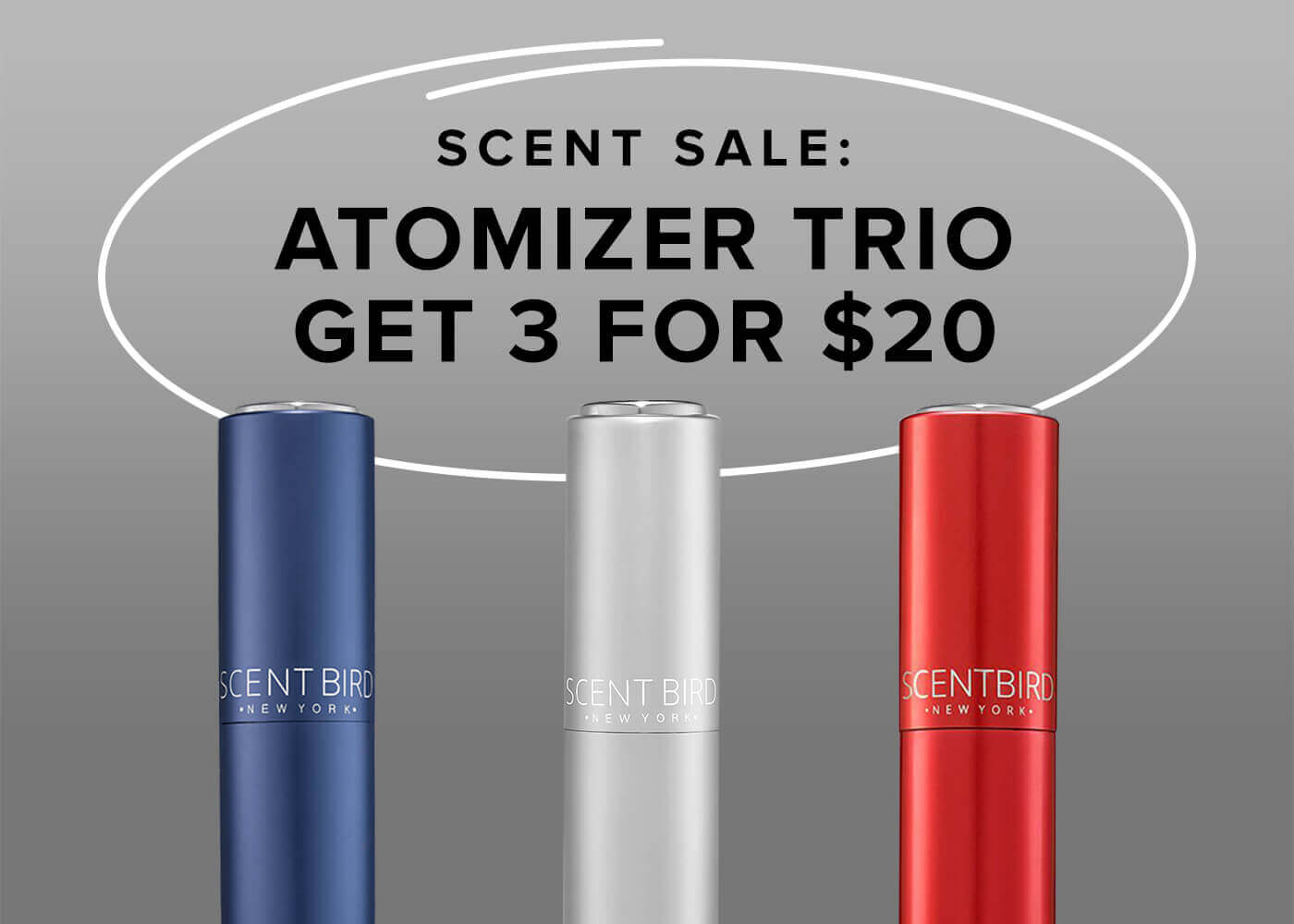 Atomizer Trio